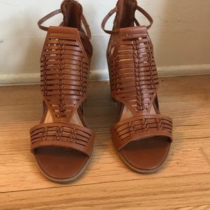 Boho pump sandals